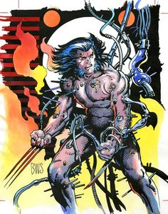 Barry Windsor-Smith : Wolverine-Weapon X Comic Book Artists, Comic Artist, Comic Books Art, Wolverine Art, Logan Wolverine, X Men, Ben Oliver, Hq Marvel, Marvel Cinematic