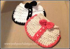 Posh Pooch Designs Dog Clothes: Tuxedo Dog Bib Crochet Pattern | Posh Pooch Designs