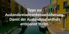 Studium im Ausland erfordert eine Auslandskrankenversicherung. Bei mir findest du einen Vergleich und Tipps, wie du deine passende Versicherung findest.
