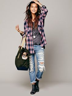 Love Thy Beast Canvas Pet Tote at Free People Clothing Boutique - $180