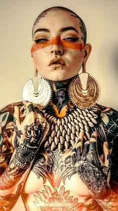 Pin by dhvani yaatra on morgin riley in 2019 body art, tattoos for women, b Inspiration Drawing, Character Inspiration, Character Design, Tattoo Girls, Girl Tattoos, Tattoos For Women, Girl Faces, Tattoo Videos, Foto Art