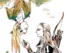Legolas:Hello who are you? You looks like as me? !?