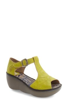 Fly London 'Boda' Platform Wedge Sandal (Women)
