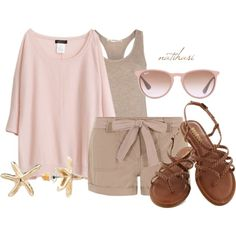 """""""Comfy Summer Outfit"""" by natihasi on Polyvore"""