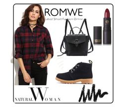 """""""#10/3 Romwe"""" by ahmetovic-mirzeta ❤ liked on Polyvore featuring Lipstick Queen"""