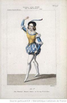 [La fille du Danube, ballet-pantomime de Taglioni et Adam : costume d'un page / gravé par Maleuvre] Auteur : Maleuvre, Louis (1785-18.. ; graveur). Graveur Éditeur : Martinet (Paris) Date d'édition : 1836