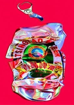 Catherine Théry - Palais d'été, 2012 - Tirage Fine Art Sous Plexi 4mm, Contre Collage sur Dibond