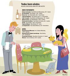 Cada vez mais numerosos nos lares brasileiros, os animais de estimação ganharam lugar cativo nos estabelecimentos comerciais. Classificados como pet friendly, os locais onde os bichinhos são aceitos acompanham a tendência de um mundo mais amistoso, principalmente com o melhor amigo do homem, e aos poucos vão se rendendo a clientes de todos os tipos.  (25 e 26/02/2017) #Cachorro #PET #Animal #Comércio #Bar #Restaurante #Loja #Comércio #PetFriendly #Aceita #Infografia #Infográfico #HojeEmDia