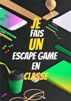 Organisez un escape game avec vos élèves #Enfants #Classe #Primaire #Lycée #Collège #Famille #EscapeKit #EscapeGame #EscapeRoom #Professeur #Enseignant