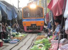 Photo of Maeklong Railway Market (Talad Rom Hub)