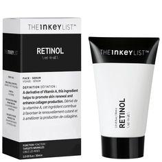 The Inkey List Retinol Treatment Best Retinol Eye Cream, Retinol Cream, Best Anti Aging, Anti Aging Skin Care, Vitamin C, Rosehip Oil, Even Skin Tone, Aging Cream, Collagen