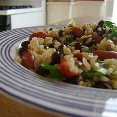 Black Beans and Rice Allrecipes.com