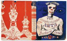 Η Barbara Jones δημιούργησε αυτό το υπέροχο κάλυμμα για το βιβλίο της Unsophisticated Arts (εκδόσεις Architectural Press, 1951). Πρόκειται για ένα από τα πιο ιδιαίτερα σχέδια του 20ου αιώνα . © The Estate of Barbara Jones