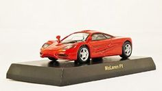 Original Kyosho 1/64 British Collection 2009 McLaren F1 (Red) (japan import) Mini Diecast Racing Car Figure