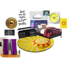 Apollo Cabin 7 My Room by desy219 on Polyvore featuring interior, interiors, interior design, home, home decor, interior decorating and Magical Thinking