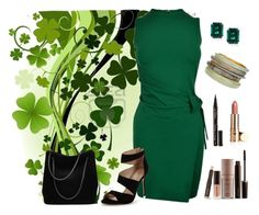 """Green Clover"" by m-aviles-ma ❤ liked on Polyvore featuring CARAT* London, Dsquared2, Carvela, Gucci, Smith & Cult, Laura Mercier and Chico's"