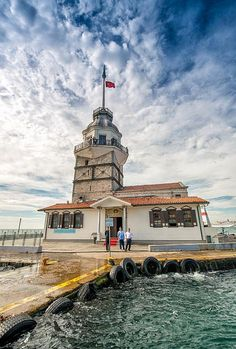Istanbul is the most populated city in Turkey and spans both banks of the Bosphorus, which is the narrow strait separating the Black Sea and the Marmara Sea. The strait divides the city in two,