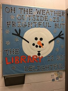 Library is delightful - January 2018 Library is delightful - January 2018 School Library Decor, School Library Displays, Middle School Libraries, Elementary School Library, Library Themes, Library Ideas, Library Decorations, Library Work, Classroom Displays