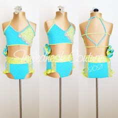 Dance Moms Costumes, Jazz Costumes, Dance Comp, Costume Collection, Aerobics, Dance Wear, Crochet Bikini, Bikinis, Swimwear