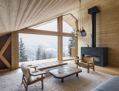 Completed in 2017 in Manigod, France. Images by Simone Bossi , Olivier Martin Gambier . . In this highly preserved Alpine valley, stringent architectural guidelines allow for very little freedom of architectural expression. Everything from...