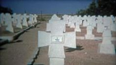 1972: German military cemetery in El M' Dou Tunisia. http://www.pond5.com/stock-footage/54704837?ref=StockFilm keywords:16mm,1972,8mm,Americana,amateur,archive,cemetery,classic,dead,documentary,editorial,el mdou,elders,era,film,generation,german,grainy,historic,home movie,memories,military,news,nostalgia,old,preserve,priceless,propaganda,reality,respect,restore,retro,throwback,treasure,tunisia,tv,vintage,war