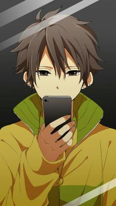 Look I got Anime in my Mobile Phone