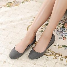Women's Shoes Max Toms Round Toe Flat Heel Flats Shoes More Colors available – USD $ 14.99