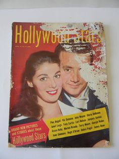 1955 HOLLYWOOD'S  STARS Magazine May Speical issue April English Movies & TV
