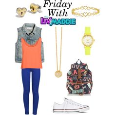 Friday With Liv And Maddie/Full Week In Description