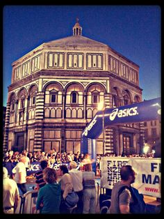 Florence's San Giovanni Marathon: every year for the patron's feast there's a Marathon in the city centre