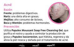 ¡Que el acné no te cause problemas! Descubre cómo deshacerte de él: ow.ly/4ngfjC #Belleza #SkinCare
