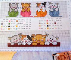 Χειροτεχνήματα: Παιδικά σχέδια για κέντημα - children cross stitch patterns