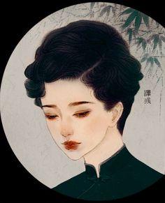 Ancient Japanese Art, Japanese Artists, Turandot Opera, The Art Of Storytelling, Japanese Artwork, Cute Art Styles, China Art, Cartoon Design, Beautiful Paintings