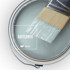 BEHR MARQUEE 8 oz. #MQ3-54 Dayflower One-Coat Hide Interior/Exterior Semi-Gloss Enamel Paint Sample-MQ33016 - The Home Depot #bedroompaintcolors