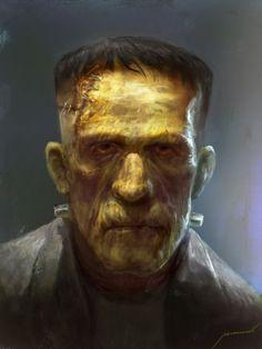 Frankenstein's Monster by Manzanedo on DeviantArt