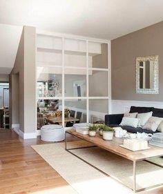 ideas para separar ambientes #ideasparadormitorios Made To Measure Furniture, Interior Shutters, Smart Kitchen, Home Bedroom, Ideal Home, Modern Decor, Family Room, Interior Design, Interior Paint
