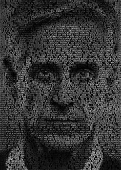 How To Create a Text Portrait Effect in Photoshop - Photography Techniques Photoshop Design, Photoshop Tutorial, Dicas Do Photoshop, Photoshop Brushes, Photoshop Actions, Photoshop Projects, Adobe Photoshop, Photoshop Filters, Photoshop Elements