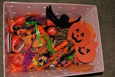 The Iowa Farmer's Wife: Halloween/Fall Sensory Bucket