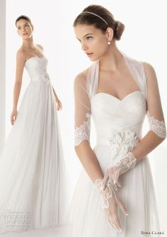 Go here for your dream wedding dress and fashion gown!https://www.etsy.com/shop/Whitesrose?ref=si_shopHoney Buy: 2013 Rosa Clará wedding dresses