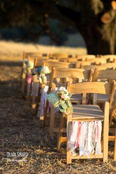 Shabby Chic Barn Wedding | Olivia Smartt Photography