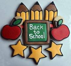 Joy Served Warm: Back To School Cookies & Tutorial
