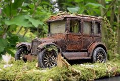 Abandoned 1923 Ford