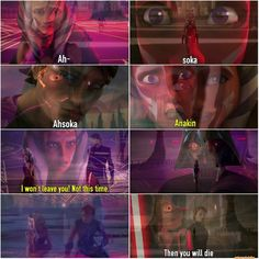 Ahsoka n Vader scene in w/ Star Wars Rebels, Star Wars Clone Wars, Star Wars Jokes, Star Wars Images, Ahsoka Tano, Star Wars Baby, Star War 3, Anakin Skywalker, Love Stars