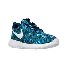 Men's Nike Roshe One Print Premium Casual Shoes. Find this Pin and more on  Polyvore by lizzylucy96. Looking for Finish Line ...