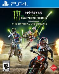 Monster Energy Supercross The Official Videogame For Playstation 4 Gamestop Monster Energy Supercross Monster Energy Supercross