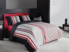Dalida Kırmızı by Cottonbox Red Duvet Cover, Comforter Cover, Duvet Cover Sets, Toile Bedding, Bedding Sets, Luxury Bedding, Comforters, Toddler Bed, Modern