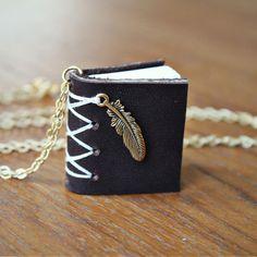 Moorea Seal Wind Book Necklace