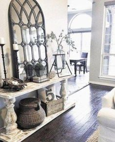 20 Beautifully Rustic Entry Table Ideas Blending Storage with Decor At Their Bes. 20 Beautifully Rustic Entry Table Ideas Blending Storage with Decor At Their Bes… 20 Beautifully Rustic Entry Table, Rustic Entryway, Entryway Decor, Entryway Tables, Entryway Mirror, Apartment Entryway, Modern Entryway, Entryway Ideas, Rustic Italian Decor