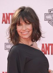 Evangeline Lilly Short Wavy Cut