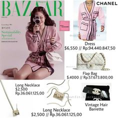 Runway Fashion Outfits, Blackpink Fashion, High Fashion, Pink Outfits, Kpop Outfits, Looks Teen, Royale Game, Chanel Outfit, Zombie Girl